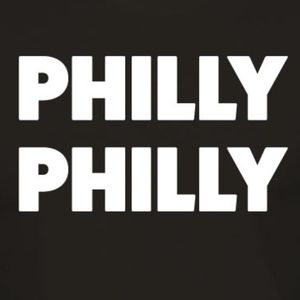 "Philadelphia ""Philly Philly"" Black T-Shirt"